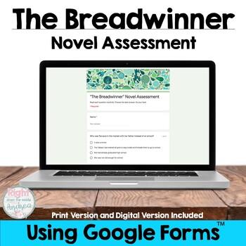 The Breadwinner {Novel Test}