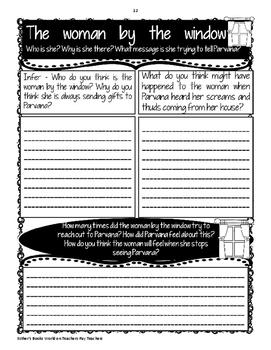 The Breadwinner by Deborah Ellis - Novel Activities Unit