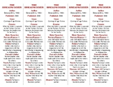 The Breadwinner edition of Bookmarks Plus—A Very Handy Reading Aid!