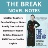 The Break by Katherena Vermette Novel Notes
