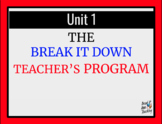 The Break it Down Drama Program