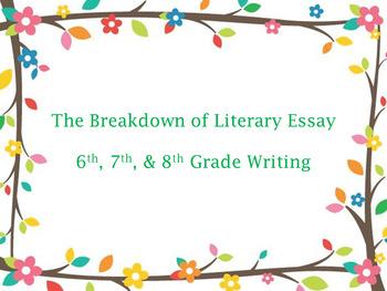 Literary Essay Writing Breakdown