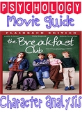The Breakfast Club Movie Guide & Character Analysis for psychology