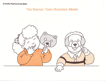 The Breman Town Musicians - Songs, Story, Masks