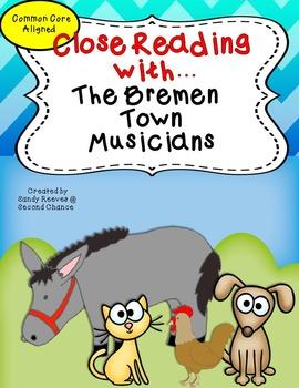The Bremen Town Musicians 2nd Grade Reading Street Close R