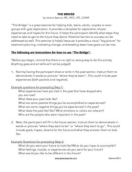 """""""The Bridge""""- An exercise in goal setting and exploring past/future for all ages"""