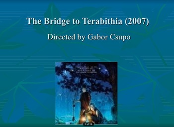 The Bridge to Terabithia film study