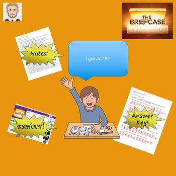 The Briefcase Common-Core Lesson Plan