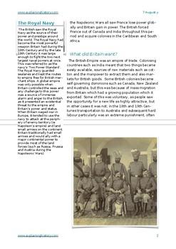The British Empire in the 19th Century