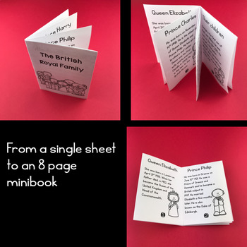 The British Royal Family MiniBook