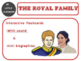 The British royal family : interactive flashcards with sound