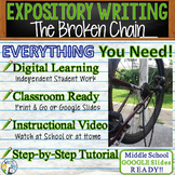 The Broken Chain by Gary Soto - Text Dependent Analysis Expository Writing