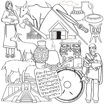 Bronze Age Clip Art - Ancient History