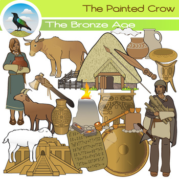 Bronze Age Clip Art - Ancient History by The Painted Crow ...