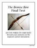 The Bronze Bow Final Test