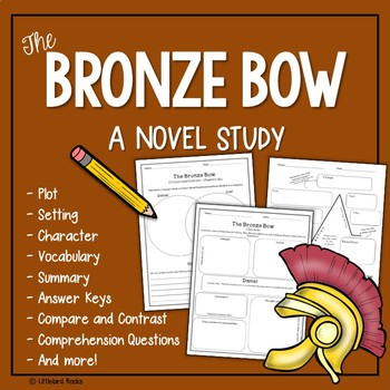 The Bronze Bow Novel Study with Answer Key