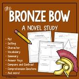 The Bronze Bow Novel Study
