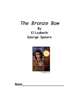 The Bronze Bow Teaching Unit/Literature Log