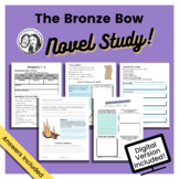 The Bronze Bow by Elizabeth George Speare - Printable + Di
