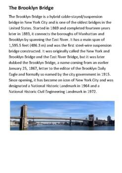 The Brooklyn Bridge Handout