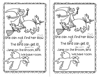 The Broom With Room FREE Emergent Reader + Poem for Shared Reading