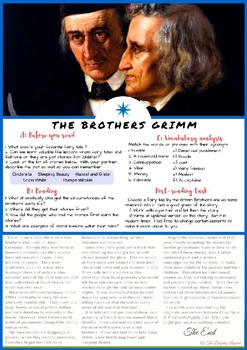 The Brothers Grimm - ESL / English Reading for Teenagers and Adults