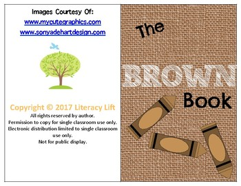 The Brown Book - Guided Reading Levels aa / A
