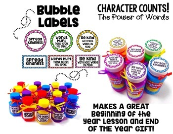 Character Education Lesson-Using Kind Words (Stop Bullying)