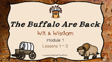 The Buffalo Are Back (Module 2 Lessons 1 - 5) PowerPoint Slides