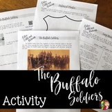 Buffalo Soldiers Activity for Texas History 7th Grade