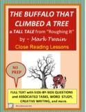 THE BUFFALO THAT CLIMBED A TREE by Mark Twain - Tall Tale Close Reading