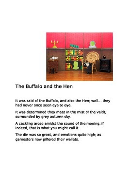 """""""The Buffalo and the Hen"""" [A Poem]"""