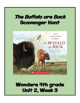 1e03ec06646 The Buffalo are Back (4th Grade Wonders; Unit 2 Week 3) by Sara Palmer