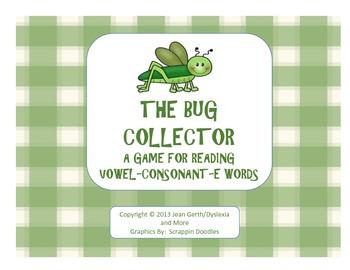 The Bug Collector - A Game for Reading Vowel-Consonant-E Syllables