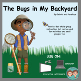Interactive Book for Speech Therapy:  Bugs