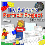 The Builder's Portrait Project (Fractions, Area, Perimeter)