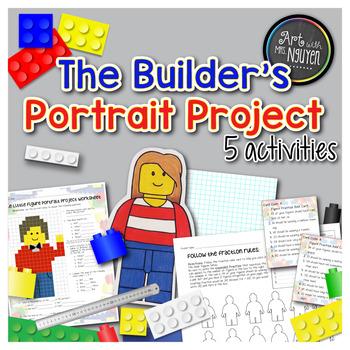 The Builder's Portrait Project (Fractions, Area, Perimeter)