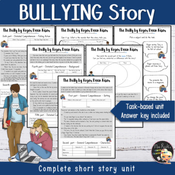 Bullying Activities - Short Story Study by Mrs Recht's