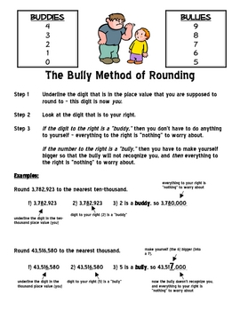 """The """"Bully"""" System of Rounding"""
