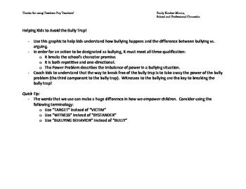 The Bully Trap PDF
