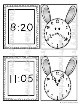 HOP ON OVER:  BUNDLE Telling Time