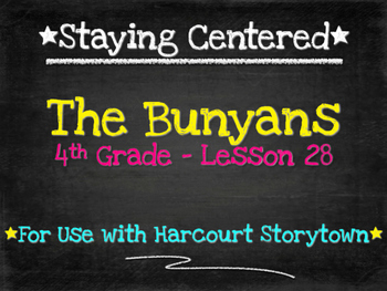 The Bunyans  4th Grade Harcourt Storytown Lesson 28