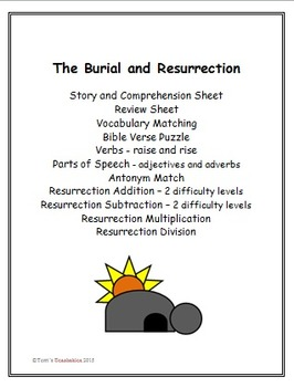 The Burial and Resurrection of Jesus