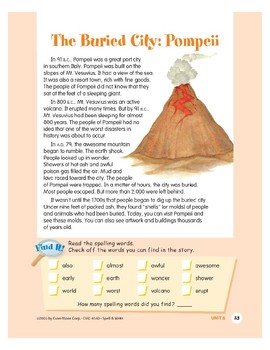 The Buried City: Pompeii