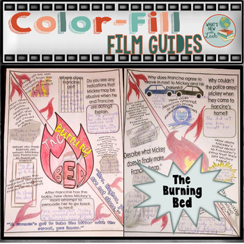 The Burning Bed Color-fill Film Guide