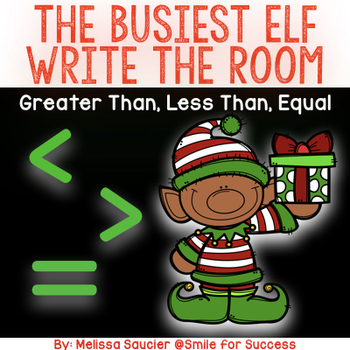 The Busiest Elf {Greater Than, Less Than, Equal}