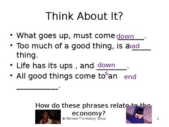 The Business Cycle PowerPoint
