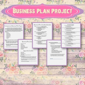 The Business Plan Project