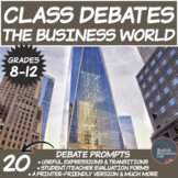 Middle/High School Debates Package: The Business World