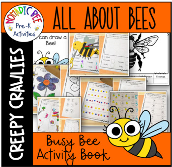 The Busy Bee Activity Book
